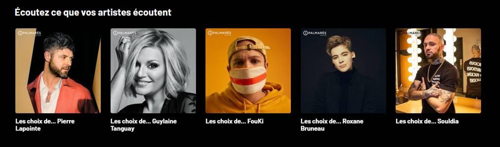 Quebecor Artistes Ecoutent