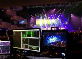 L'équipe de TURBINE en plein travail pendant le Gala de l'ADISQ 2015.
