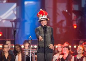 ADISQ 2015 : le premier gala - Jean Leloup gagnant des Félix de l'Album - Rock et de l'Album - Choix de la critique (crédit photo : Jean-François Leblanc)