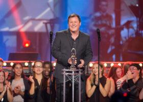 ADISQ 2015 : le premier gala - Maxime Landry gagnant du Félix de l'Album - Country (crédit photo : Jean-François Leblanc)