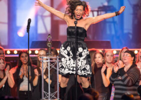 ADISQ 2015 : le premier gala - Bïa gagnante du Félix de l'Album - Musiques du monde (crédit photo : Jean-François Leblanc)