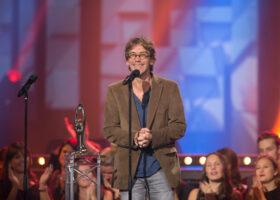 ADISQ 2015 : le premier gala - Fred Pellerin gagnant du Félix de l'Album - Meilleur vendeur (crédit photo : Jean-François Leblanc)