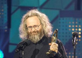 Premier Gala de l'ADISQ 2017 - François Bellefeuille, gagnant du Félix pour l'Album ou DVD de l'année - Humour