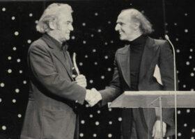 Félix Leclerc et Gilles Vigneault