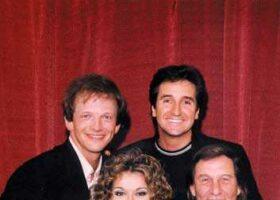 André-Philippe Gagnon, René Simard, Céline Dion et Jean-Pierre Ferland