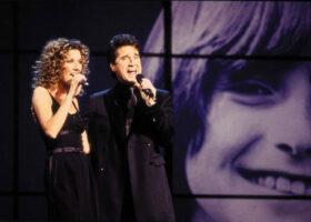 Céline Dion et René Simard