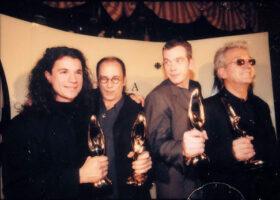 Bruno Pelletier, Gilles Maheux, Garou et Luc Plamondon