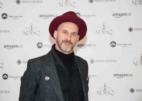 Premier Gala de l'ADISQ - Artiste de l'année ayant le plus rayonné hors Québec : Hubert Lenoir