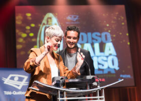 Claudine Prévost et Sébastien Diaz
