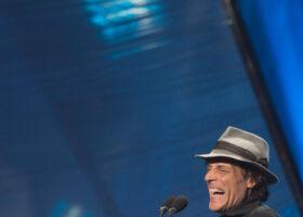 GALA DE L'ADISQ 2015 : Jean Leloup gagnant des catégories Interprète masculin, Auteur ou compositeur et Chanson de l'année ( crédit photo : Jean-François Leblanc)
