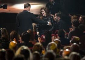 GALA DE L'ADISQ 2015 : Isabelle Boulay gagnant du Félix Spectacle - interprète de l'année ( crédit photo : Jean-François Leblanc)
