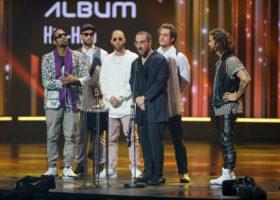 Gala de l'ADISQ - Alaclair Ensemble, gagnant du Félix pour l'Album de l'année - Hip-hop