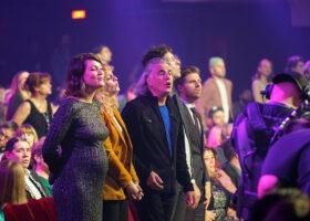 Gala de l'ADISQ - Les soeurs Boulay, Richard Séguin, Patrice Michaud et Vincent Vallières pour l'hommage à Leonard Cohen