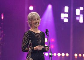 Gala de l'Industrie - Sylvain Deschamps, gagnant du Félix pour Réalisateur de disques de l'année