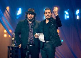 Premier Gala de l'ADISQ 2017 - Half Moon Run, gagnant du Félix pour le Spectacle de l'année - Anglophone
