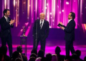 Gala de l'ADISQ - Présentateurs: Louis-José Houde, Yvon Deschamps et Guy A. Lepage