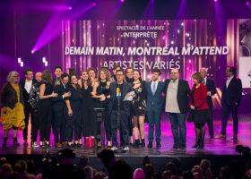 Gala de l'ADISQ - Spectacle de l'année - Interprète: Demain matin, Montréal m'attend