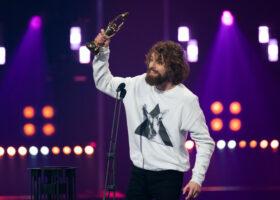 Gala de l'ADISQ - Spectacle de l'année - Auteur-compositeur-interprète: Philippe Brach pour Le silence des troupeaux