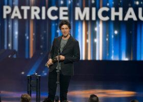 Gala de l'ADISQ - Interprète masculin de l'année: Patrice Michaud