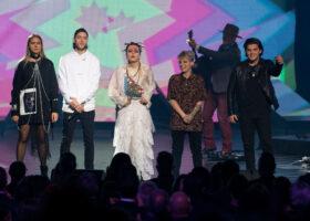 Gala de l'Industrie - François Richard et Alexandre Désilets, gagnants du Félix pour Arrangeur de l'année