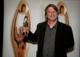 Gala de l'Industrie - Stéphane Grimm, gagnant du Félix pour Sonorisateur de l'année
