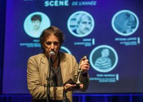 Daran remporte le Félix du Metteur en scène de l'année. (crédit photo : Jean-François Leblanc)