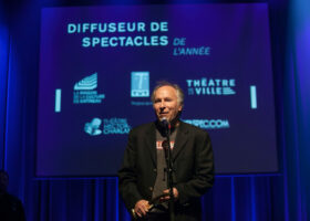 Le Théâtre Hector-Charland de L'Assomption remporte les Félix Salle de spectacles et Diffuseur de spectacles de l'année. (crédit photo : Jean-François Leblanc)