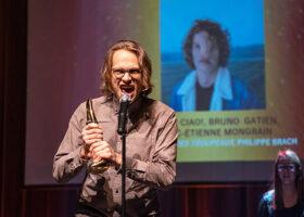 Gala de l'Industrie - Pochette d'album de l'année : Puppy Ciao!, Bruno Gatien, Marc-Étienne Mongrain  pour Le silence des troupeaux Philippe Brach