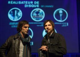 The Barr Brothers remportent le Félix de Réalisateur de l'année (crédit photo : Jean-François Leblanc)